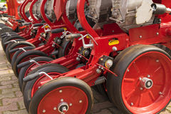 Seeder, Agricultural machinery Royalty Free Stock Photo