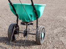 Manually operated seeder royalty free stock photos