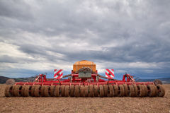 Seeding Machine Royalty Free Stock Photo