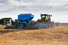 Seeding works Royalty Free Stock Photography