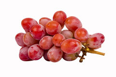 Seedless red grape Stock Photography