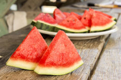 Seedless Watermelon Royalty Free Stock Photography