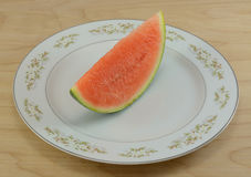 Seedless watermelon Stock Images