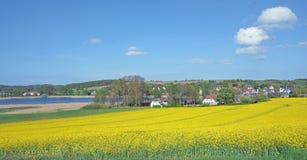 Seedorf около Sellin, острова Ruegen, Балтийского моря, Германии Стоковая Фотография