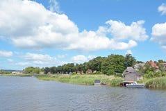 Seedorf, остров Ruegen, Балтийское море, Германия Стоковые Изображения