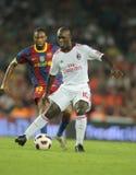 Seedorf Spieler von AC Mailand Stockfotografie