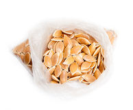 Seeds bag Royalty Free Stock Image