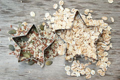Seeds and cereals Stock Images
