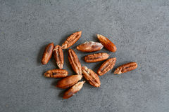 Seeds of date palm Stock Image