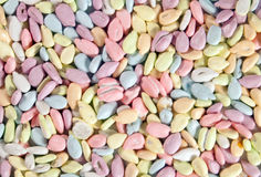 Seeds in the glaze. Peeled sunflower seeds in colored glazes Royalty Free Stock Photo