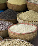 Seeds at a market Stock Photography