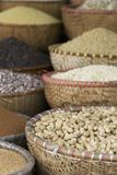 Seeds in a market Royalty Free Stock Photo