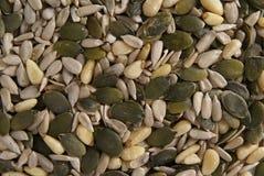 Seeds mix close-up Stock Images