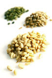Seeds and nuts Royalty Free Stock Image
