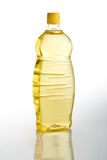 Seeds oil bottle. Seeds oil in bottle over a white background stock photos