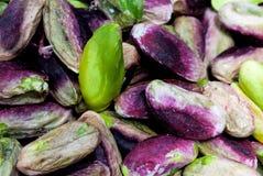 Seeds of pistachio Stock Photos