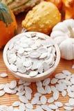 Seeds of pumpkin Stock Photography