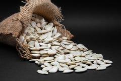 Seeds of pumpkin Stock Photos