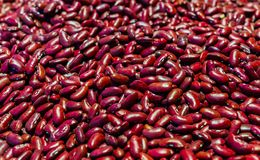 Seeds of red beans. Protein plant food. A healthy diet stock photo