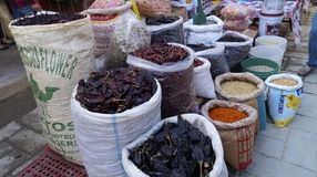 Seeds and spices Royalty Free Stock Photos