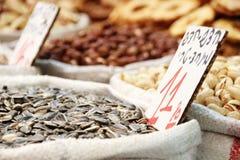 Seeds Stand. Seeds at Jerusalem& x27;s market Stock Images
