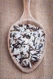 Seeds of wild rice Stock Photo