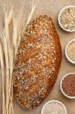 Seeduction Whole Grain Bread Stock Photo