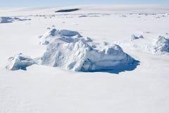 Seeeis auf Antarktik Stockbild