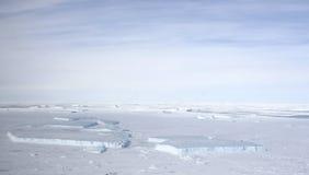 Seeeis auf Antarktik Lizenzfreies Stockfoto