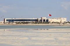 Seef Mall in Muharraq, Bahrain. New Seef Mall in the city of Muharraq. November 14, 2015 in Muharraq, Kingdom of Bahrain Royalty Free Stock Photo