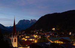 Seefeld Summer Evening Stock Image
