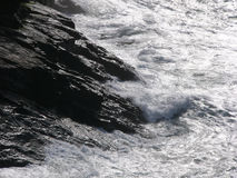Seefelsen stockfoto