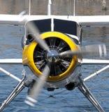 Seeflugzeugmotor und -propeller Stockbilder