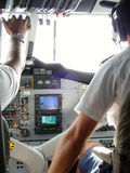 Seeflugzeugpilot Lizenzfreie Stockfotos