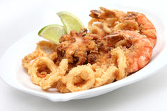 Seefood misturado Fotografia de Stock