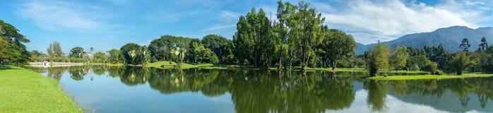Seegarten Taiping, Perak Stockbild