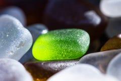Seeglasdetail stockbilder