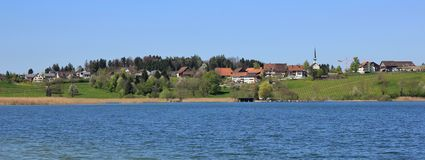 Seegraben on a spring day royalty free stock photos