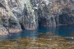 Seehöhle stockbild