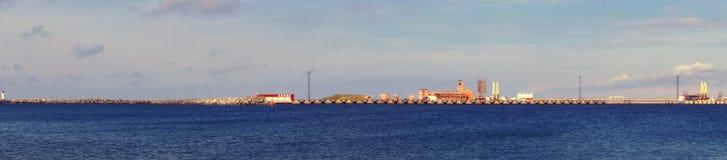 Seehafen Stockfotografie