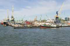 Seehafen Lizenzfreie Stockbilder