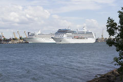 Seehafen Stockfoto