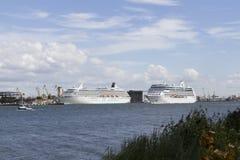 Seehafen Stockbild