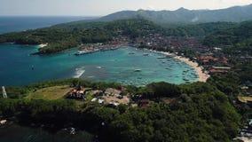 Seehafen in der Lagune auf Bali