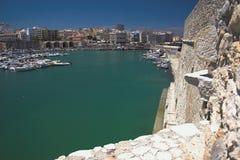 Seehafen in der Stadt Iraklion, Kreta, Griechenland Stockfotos
