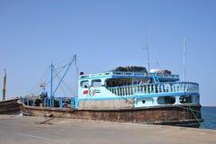 Seehafen im Golf von Aden Lizenzfreie Stockbilder