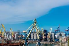 Seehafen von Odessa Black Sea Ukraine stockbild
