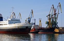 Seehandelskanal Lizenzfreie Stockfotos