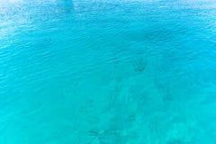 Seehintergrund von Malediven-Meer Lizenzfreie Stockfotografie