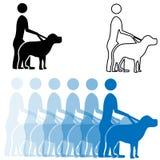 Seeing Eye Dog Royalty Free Stock Images